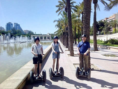 Jardines del Turia (1 Hour on Segway)