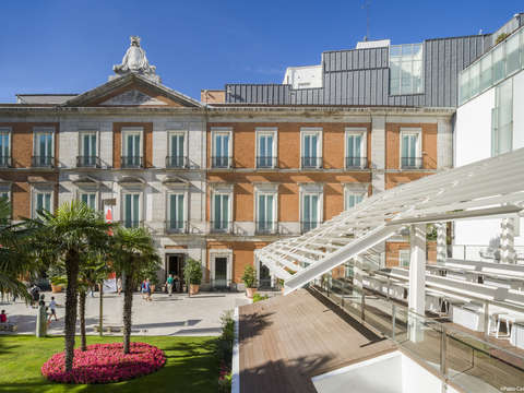 Panoramic tour of Madrid and Thyssen Museum