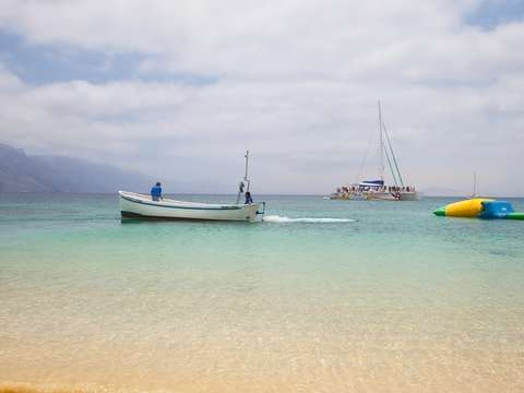La Graciosa in Catamaran