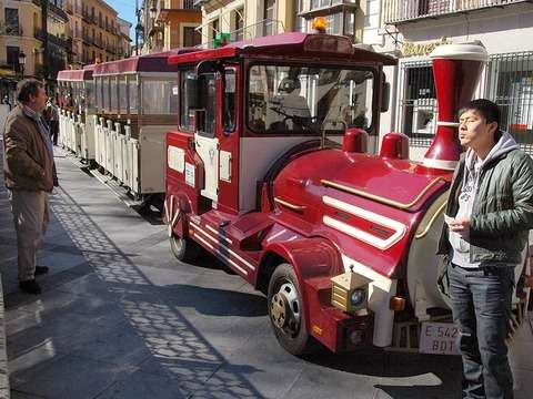 Toledo on Air from Madrid and Tourist Train