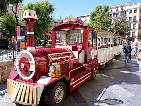 Toledo on Air, Tirolina and Tourist Train from Madrid