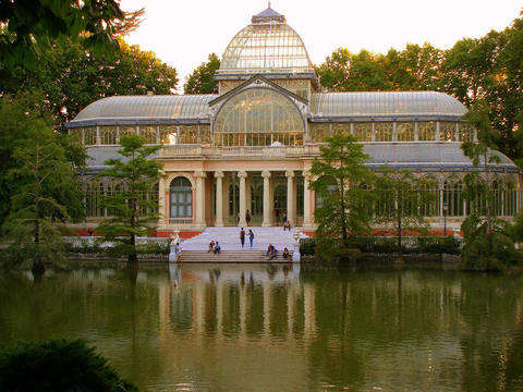 Retiro Park on E-Bike
