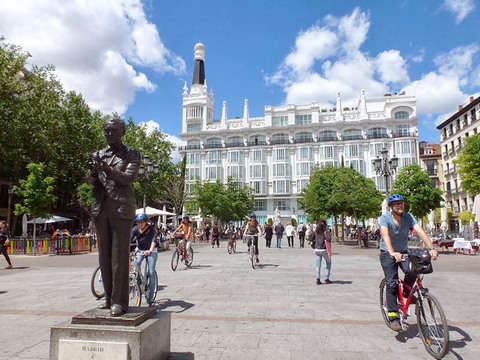 Bike City Tour in Madrid