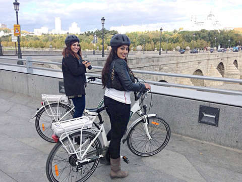 Madrid River on E-Bike