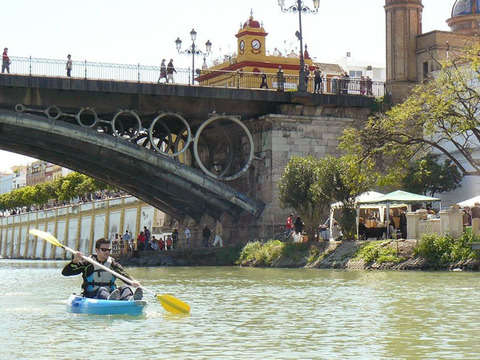 Sevilla Kayak Route