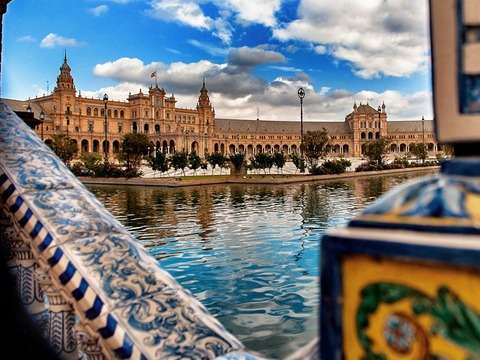Seville: Full Day Tour - Cathedral and Alcázar (Sin Quelas)