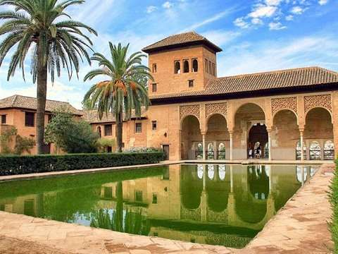 Alhambra of Granada from Seville