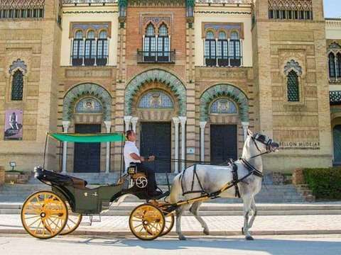 Horseback ride through Seville