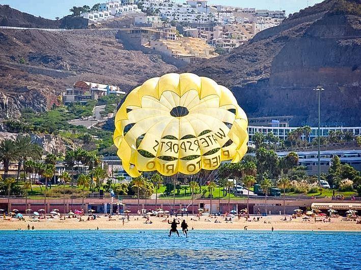 Tours a parasail in puerto rico - Volar a puerto rico ...