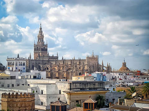 Visit with Guide to the Cathedral of Seville and Giralda