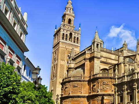 Day Trip from Malaga to Seville + Entrance *