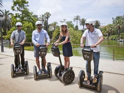 Guided 60-minute Segway Tour of Barcelona