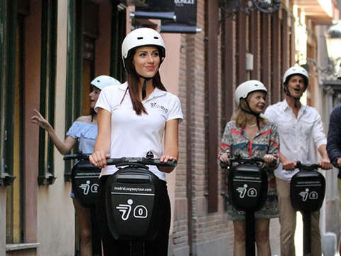 Guided 90-minute Segway Tour of Madrid