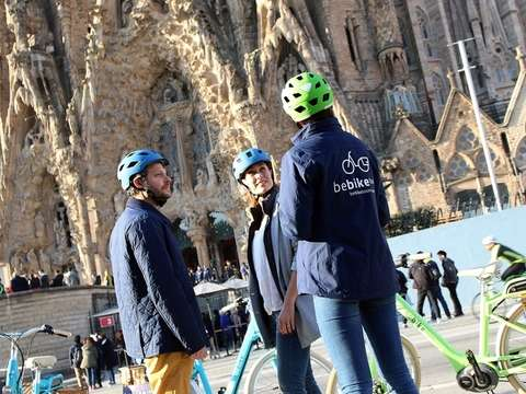 Gaudí E-Bike Tour Guided by Barcelona - 2h30