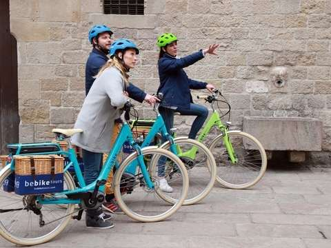 Montjuic E-Bike Tour Guided by Barcelona - 3h30