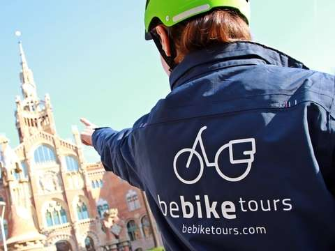 Top 10 E-Bike Tour Guided by Barcelona - 1h30