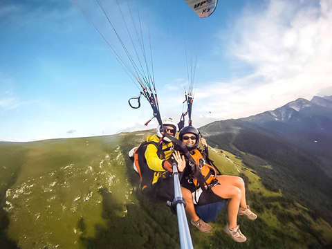 Sierra de Líjar: Paragliding and two-seater flights