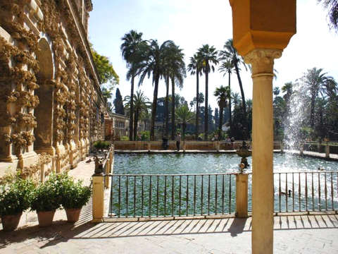Game of Thrones Tour in the Alcazar