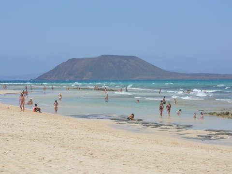 Fuerteventura Al Completo from Lanzarote