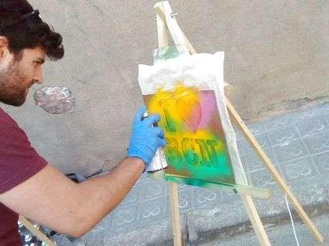 Urban Art Tour & Graffiti Workshop - Esp / Eng / Ita
