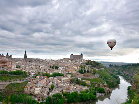 Balloon trip in Toledo