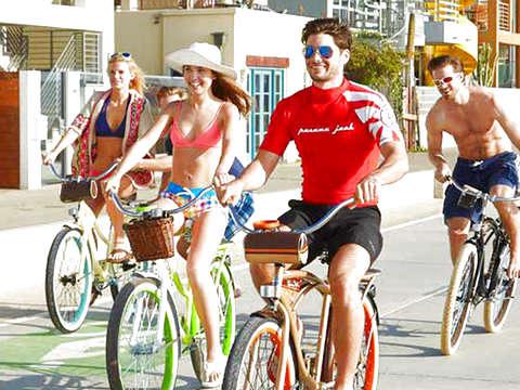 Tour Autoguiado en Bici Vintage en Maspalomas y Playa Ingles
