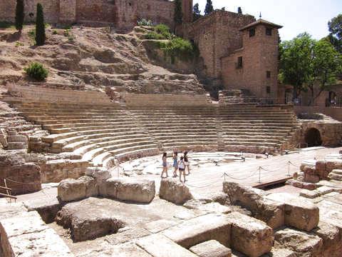 Roman Theater + Alcazaba