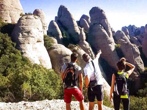Hiking in Montserrat & Monastery Visit