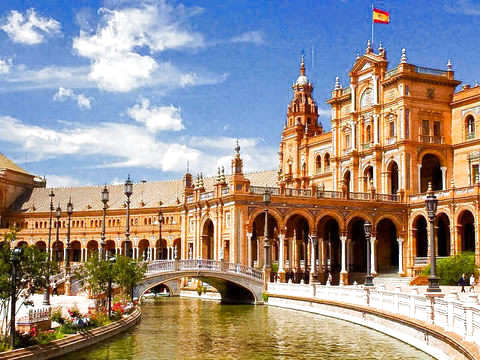 Premium Tour - History and Legends + Yacht + Flamenco Lunch
