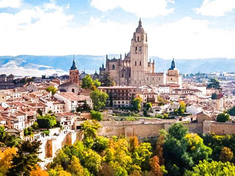 Avila y Segovia Con Almuerzo Típico