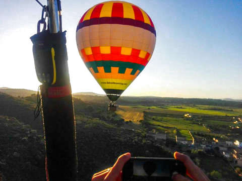 Balloon flight Mallorca
