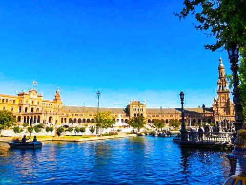 Sevilla: Escape Park Plaza de España y Parque de María Luisa