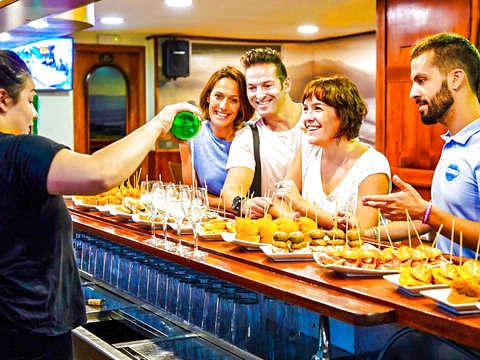 San Sebastián: Tasting of Marinated Pintxos + Wine Tasting