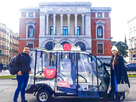 Buggy: Madrid through the Centuries (2h to 5 People)
