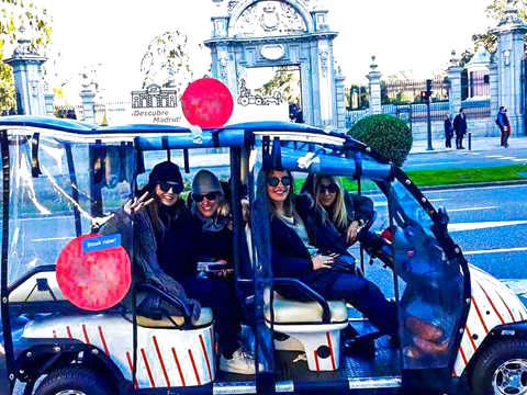 Madrid: Buggy Tour la Latina – Madrid Rio (1h30 hasta 5 Per)