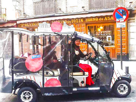 Madrid: Tour the Unmissable in Buggy (1h to 5 People)