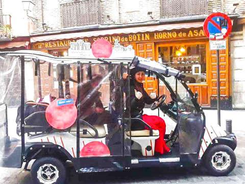 Madrid: Tour el Imperdible en Buggy (1h hasta 5 Personas)