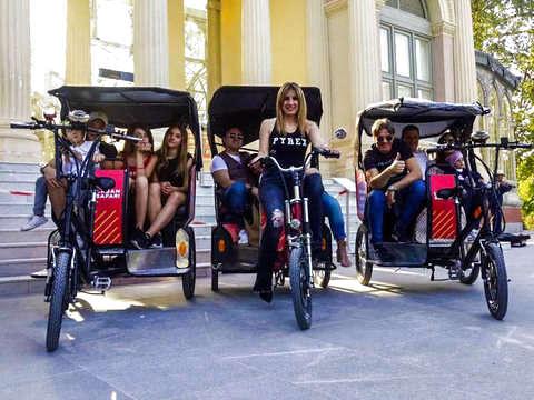 Tuk-Tuk: Tour Madrid Al Completo (3h)