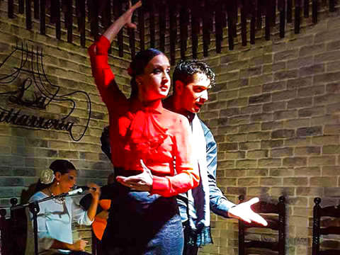 Alicante: The Magic of Flamenco + Tapas Dinner