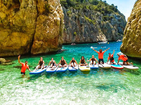 Paddle Surf and Snorkel in the Sea Lion Cave