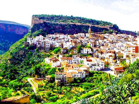 Excursion to Chulilla + Castle + Nature Reserve + Food