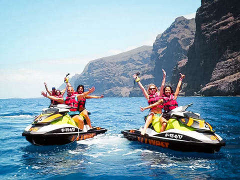 Premium Jet Ski Tour in the Canary Islands