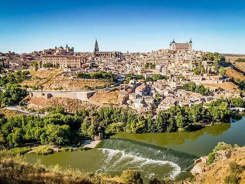 Desde Madrid: Tour de Día Completo a Toledo + 7 Monumentos