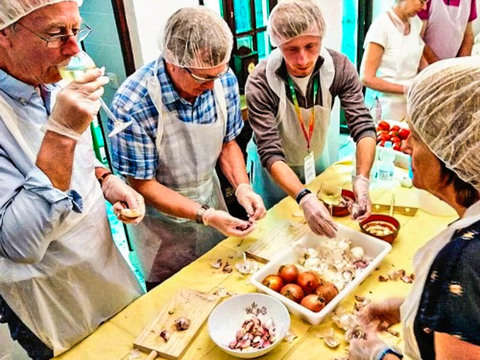 Cooking Workshop in Traditional Andalusian Housing