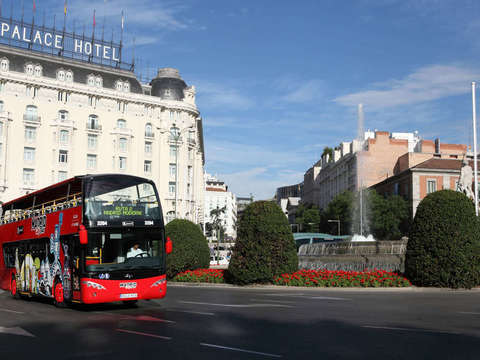 Madrid: 1 Day Tourist Bus