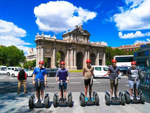 Madrid en Segway Con Tour Privado de 1h