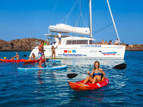 Marine Experience on Isla de Lobos from Las Palmas