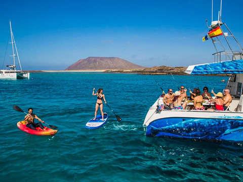 Isla de Lobos Cetacean Combo in Las Palmas