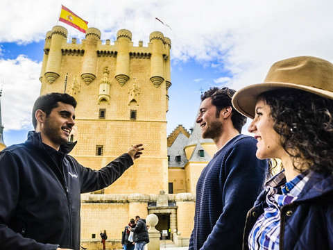 Segovia Experience on Ebike and Guided Tour