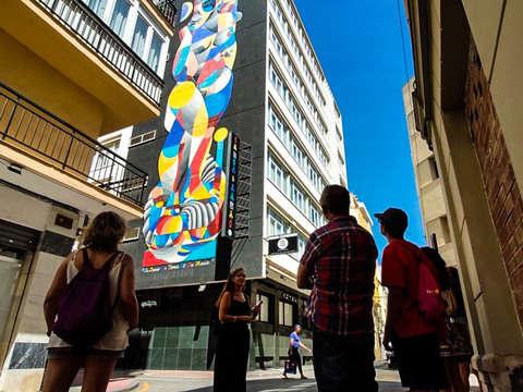 Tour de Arte Urbano por el Soho de Málaga